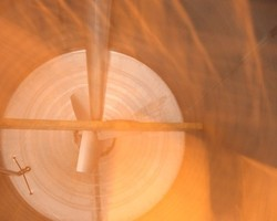 1 Cuve process agitée de 6 400 litres avec circuit forcé fond + virole