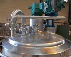 1 Cuve process 600 litres pour yaourt brassé et pour crème dessert