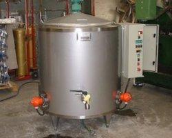 1 Cuve de pasteurisation à lait de 500 litres chauffage électrique
