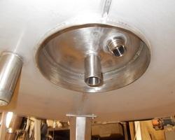 1 Cuve de maturation à crème de 2 370 litres avec circuit forcé fond + virole