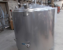 1 Cuve d'ébullition de 1 200 litres pour la fabrication de la bière