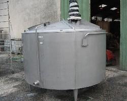1 Cuve process isolée et agitée avec circuit forcé sur la virole de 4 000 litres N°3