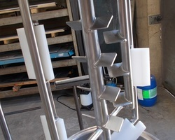 1 Cuve process isolée et agitée avec circuit forcé de 50 litres pour un laboratoire pilote