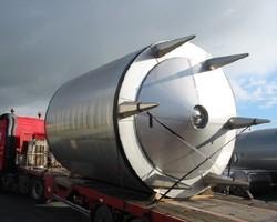 1 Cuve de stockage isolée et agitée de 30 000 litres N°4