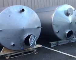 1 Cuve de stockage non isolée de 7 500 litres N°2